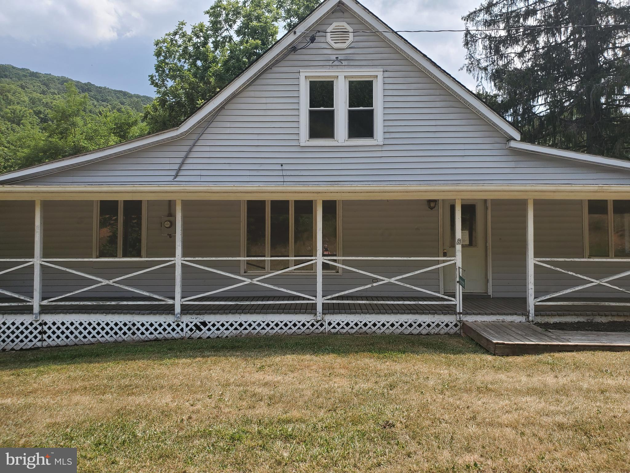 Price Reduced !  3 Bedroom 1 1/2 Bath Cape Cod style home located on Lunice Creek Highway. Property features Front porch and back yard has creek frontage.  Lots of potential