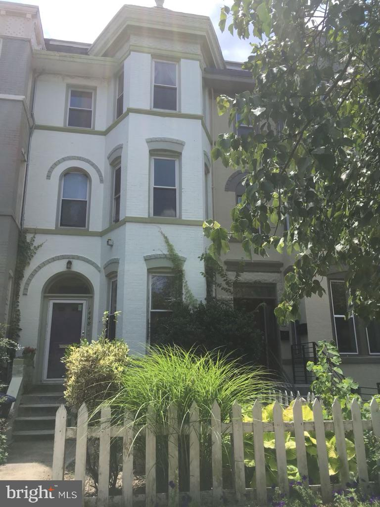 This rowhome was previously used as a single-family group rental home with 7 beds, 3.5 baths, and 2 separate kitchens.  The highest and best use of the property is almost certainly a condo building with up to 8 units.  Multiple opinions of what is practicable have been provided to the seller ranging from 5 two-bedroom units with approximately 1300sqft each, to 8 units including two penthouses.  A parking spot would likely have to be acquired for the larger unit numbers.  The property is vacant.  Previously it was rented for $6675. Total outsales for 5 units would be around $3.25M.  Outsales for 7 units would likely be around $4.04M.