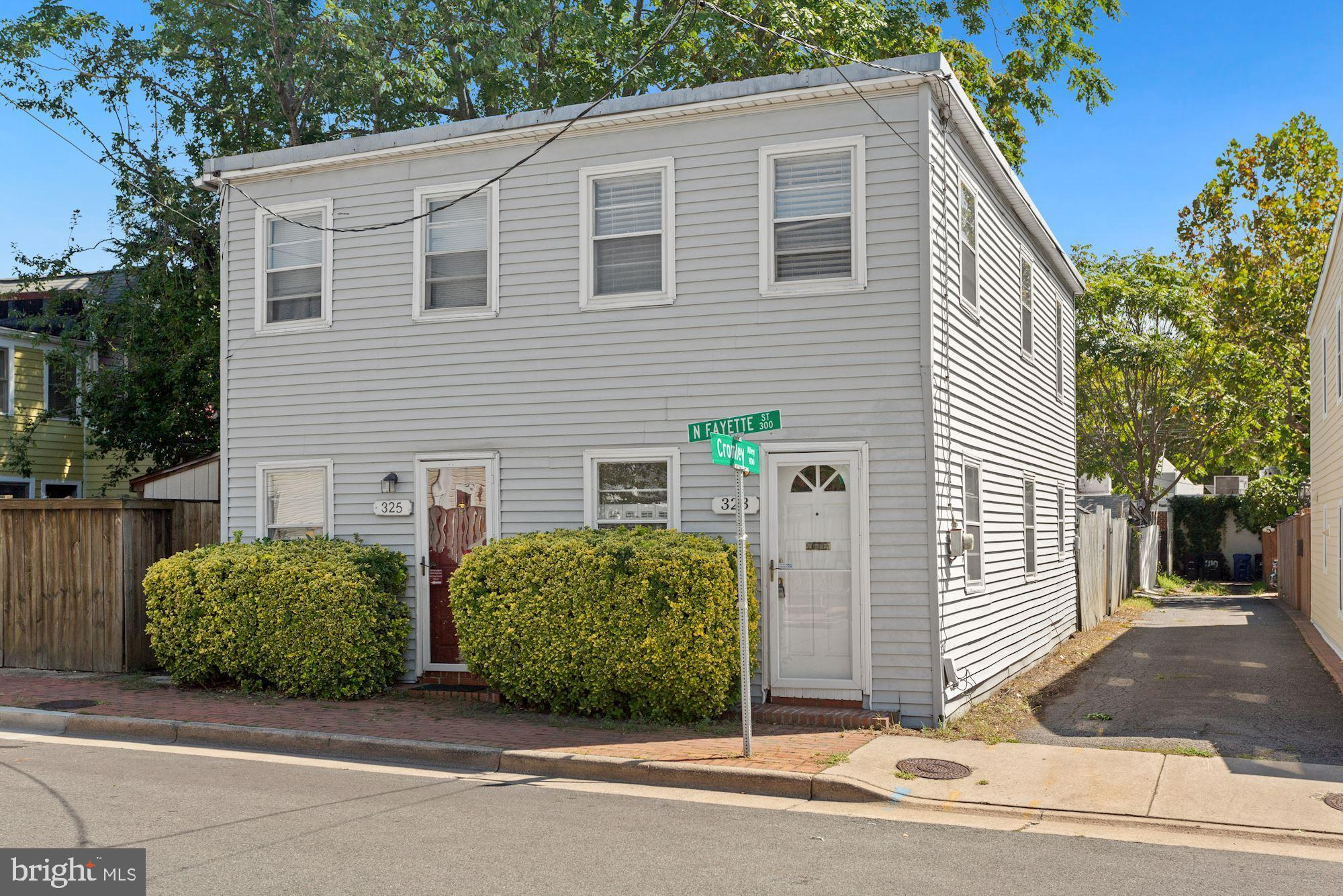 323 N Fayette Street, Alexandria, VA 22314