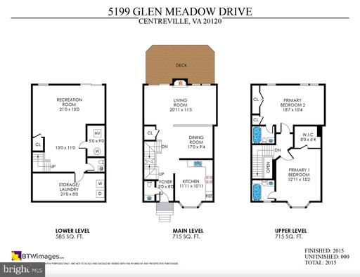5199 Glen Meadow Dr Centreville VA 20120