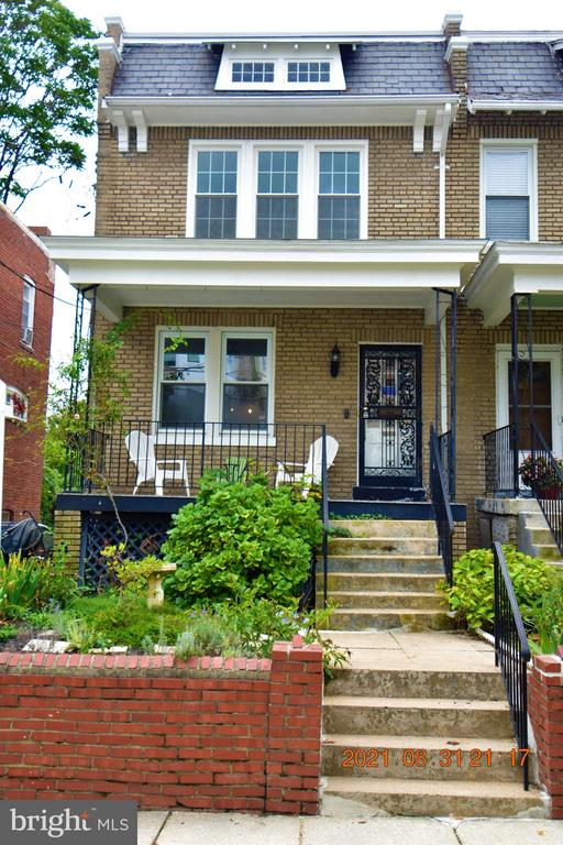 This property is located in the heart of Brookland.  This home is well maintained by the owners. Turn Key.  Semi-detached house with original hardwood flooring, porcelain and crystal doorknobs and quartz countertops.  Living space on all 3 levels.  Located on a nice treelined street.  Next to everything the new owner need.    Three bedrooms, Two and half bathrooms and a finish basement with a full bathroom. Tankless water heater, new Kitchen, new widows top to bottom, hardwood floors on the main and upper levels. Great location. The owners are waiting.  This house will attract individuals who love the preserved  historical home with modern upgrades.