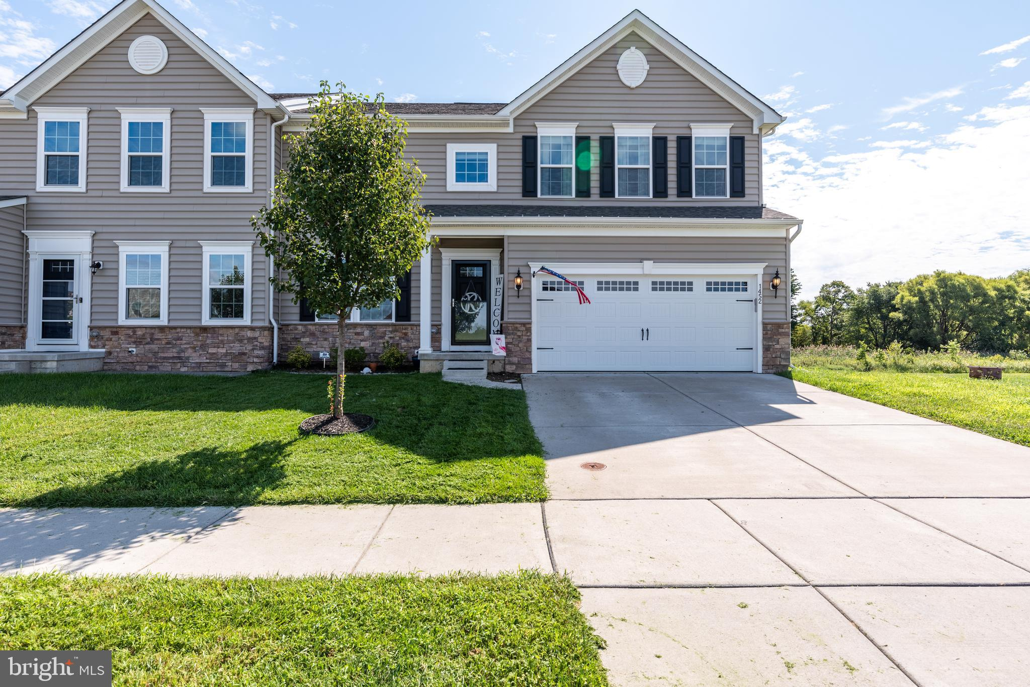 *OFFER DEADLINE OF 10:00AM FRIDAY 9/10* Welcome home! This spacious twin home is ready for it's new owner.  Open space surrounding the yard offers privacy and a quiet space in this beautiful neighborhood conveniently located by rte 13 but tucked away on winding back roads. Inside you will find extensive upgrades including an extended island at the center of the kitchen offering seating and making entertaining easier than ever. Gorgeous wide plank flooring throughout the first floor, a spacious walk in closet in the main bedroom along with a tray ceiling and huge spare bedrooms make this home perfect for any buyer (plus a partially finished basement). Home is being sold in as is condition.