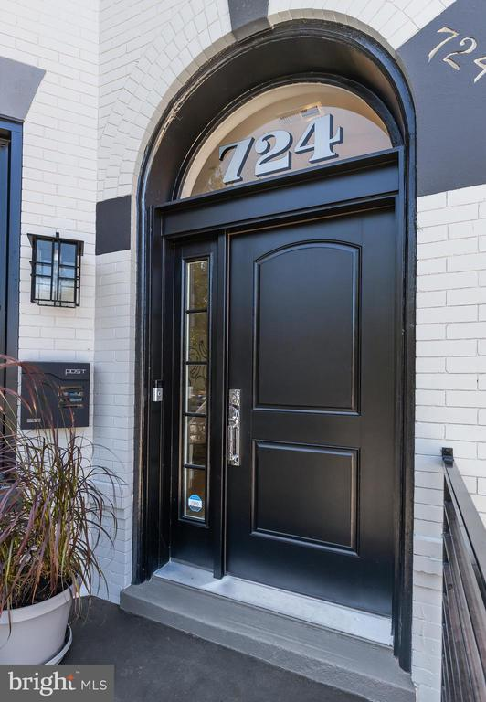 Welcome home to 724 7th Street, NE. An incredible, brand new top-to-bottom renovation of this beautiful end rowhome conveniently located in Capitol Hill!  This grand residence gives you all you are looking for and more. The main home boasts soaring ceilings in this completely renovated sun-kissed and stylish home offering 3 large bedrooms, two and a half spa bathrooms, a culinary dream kitchen with Thermador appliances and additional wall of underlit cabinetry for plentiful storage, a family room with gas fireplace, formal living and dining rooms, 2 balconies and a separate patio recently landscaped and includes additional parking space for one vehicle. The English basement is the perfect rental residence offering two bedrooms and two full bathrooms and features all brand-new appliances with seperate C of O. The carriage house offers an interior parking space, owner closets and the upstairs boasts a one bedroom, one full bathroom and kitchen for the perfect Airbnb or home office.  Very rarely does an opportunity like this hit the market for a completely renovated home, with 2 potential income streams, that is truly turn-key.  724 7th Street is reimagined for the most discerning buyer and will not disappoint with ample storage and parking for 2 cars in an excellent location within one block to Whole Foods and an almost perfect walk score of 95.