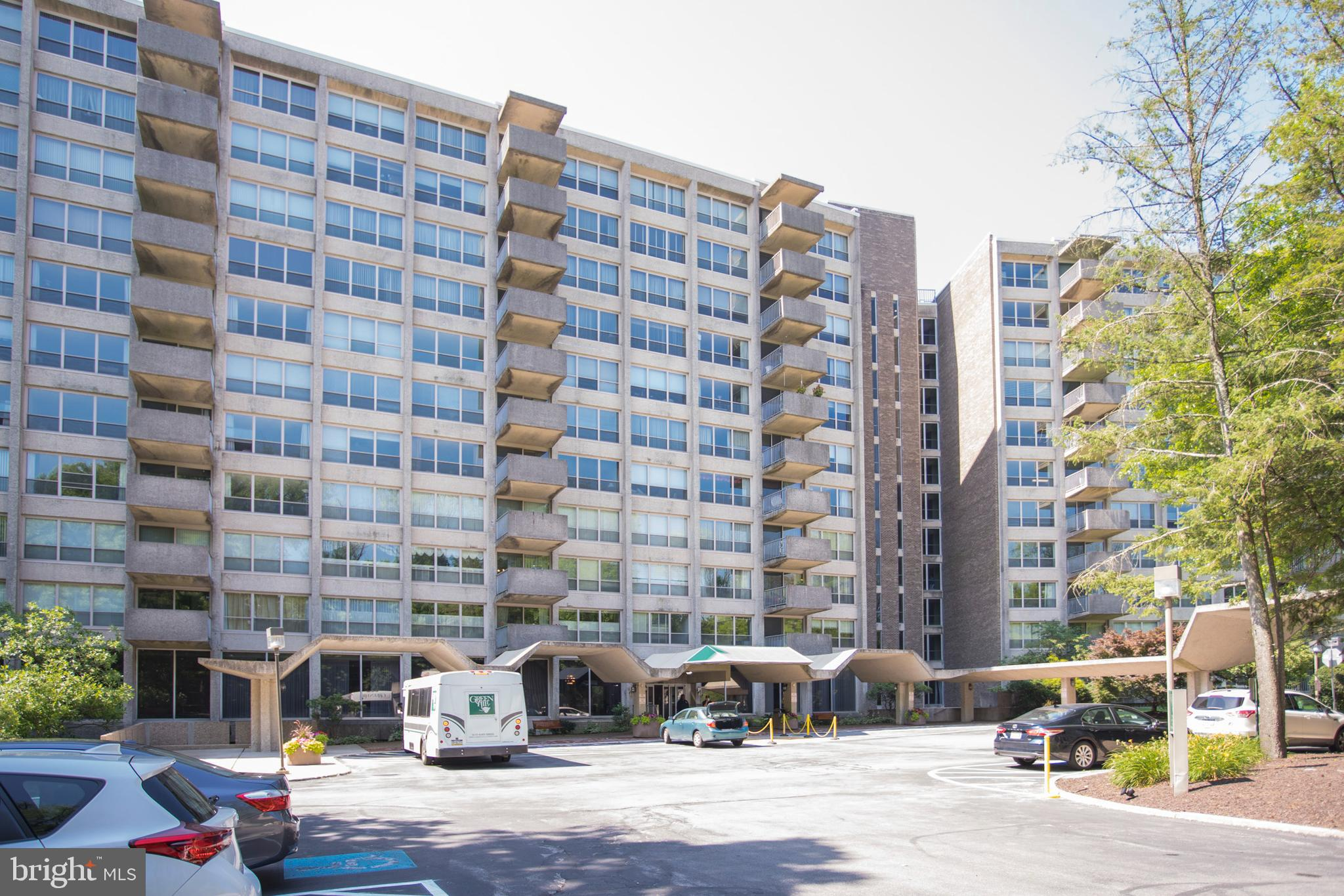 *** Presenting #ED1128, a 1 bed/1 bath PH unit at Green Hill *** This end-unit has been well-cared for and is awaiting its next owner. Positioned perfectly in close proximity to the elevator, it sits on the top floor, with a neighbor only on one side.  This situation keeps the unit nice and quiet.  Enjoy all of the amenities that Green Hill possesses. The Green Hill Condominium is a friendly community of 543 condominium apartments situated on 23 beautifully wooded and landscaped acres in the desirable Wynnewood, Lower Merion school district with so many to offer. Lushly landscaped grounds with acres of mature trees, manicured lawns, shaded walkways and a delightful wooded picnic area near a meandering stream. Uniformed doormen are on duty 24-hours a day, every day of the year. Attended gatehouse at Green Hill's property entrance for monitoring and controlling access. Green Hill's campus is comprised of 2 separate 11 story buildings. Automatic building entrance door opens and closes for you hands free. Schedule your showing today and see all that this property has to offer!