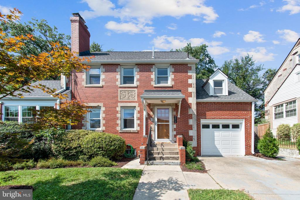 Step inside this 4BD/2.5BA red-brick beauty in the heart of Brookland! Main level includes a renovated side porch that's the perfect office or greenhouse, and open renovated kitchen with breakfast bar. There's a master bedroom with gorgeous en-suite bathroom on the upper level, as well as a bedroom up in the finished attic. Basement includes an entertainment room (with fireplace), laundry, and storage. Fenced-in backyard perfect for al-fresco entertaining or relaxing. Enjoy a casual walk to the Red Line, or drive and park in your own 1-car garage. Come check out this charmer! OPEN HOUSE SUN 1-4