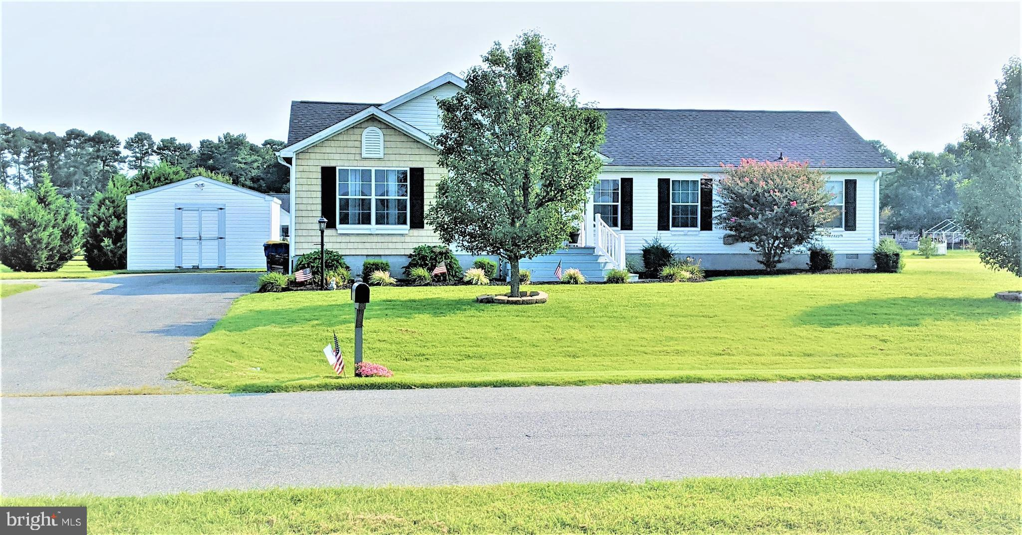Wonderful & peaceful country living is found here! Come and enjoy how a little over 3/4 of an acre can feel with a well maintained 3 bedroom 2 FULL bathroom open concept ranch style home. Located in Lincoln, Delaware about 15 minutes from the beaches! Conveniently located close to local shopping, dining, and Route 1, and easy access to the beach and you can still enjoy a starry night in your backyard. This home is great for entertaining lots of friends and family with a new large deck and a wide ranging backyard. New upgraded HVAC system (2019), new roof, new septic, new hot water heater, new carpet, updated plumbing. Entertaining is a breeze as the entry-level boasts a beautiful living room with a beautiful wood burning, stone fireplace, a formal dining room, and a kitchen highlighting new granite counters. The dining room also opens to the deck that provides even more space for entertaining an access to the large above ground pool. It also serves as a cozy spot to relax and sip your morning coffee. . Move-in ready and priced to sell, this home could be the perfect fit for you and your growing family. Schedule your private tour to experience all this beautiful home has to offer! Please follow all COVID-19 protocols. The home is being sold AS-IS. All inspections are for informational purposes only. The sellers have upgraded a lot of the house systems.