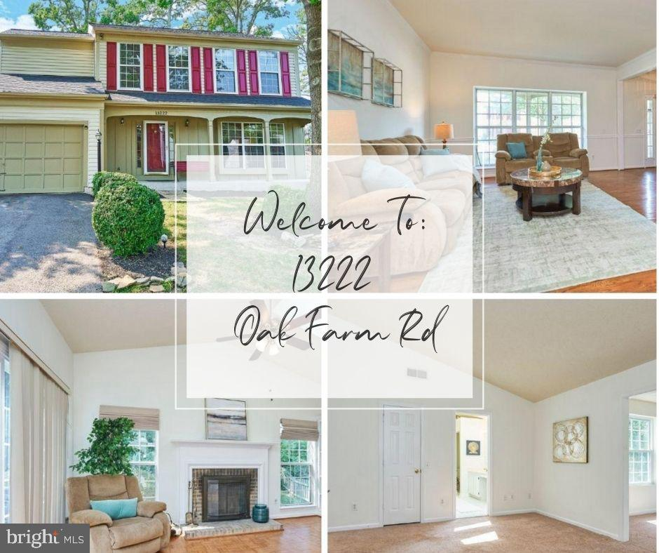 OFFER ACCEPTED.  **See below for system and update dates** Welcome to Twin Oak Farms! This light-filled home features a 2-car garage, 4/5 bedroom, 3.5 bath home (lower level bonus room with ensuite bathroom), and a two-story bump-out providing an extra 500 S.F. of living space, totaling 3,500 S.F. on all 3-levels!! Open the door to a lovely hardwood foyer and main level that features a large living, formal dining room, and den. The eat-in kitchen sits in the heart of the home with granite countertops (installed in 2017), a double door pantry, and center island that opens to the family room. Enjoy the wood-burning fireplace in the family room or entertain in the fenced-in backyard with abundant foliage for wonderful shade and privacy! You'll also appreciate the conveniences of main-level laundry and half bath! The lower level would be perfect for an au-pair or in-law suite and includes a large family room and bedroom (easily be converted to a legal bedroom by enlarging the window egress for only $1500-$3000) and a spacious ensuite bathroom that features a soaking tub and separate stand up shower. The upper level has 4 bedrooms, including the primary bedroom that has it's own sitting room adorned with tons of natural light, 2 large closets as well as a walk-in closet. Rounding out the upper level are 3 bedrooms (the one over the garage is extra large and has 2 large closets), and a hall bath. Community amenities include a clubhouse and outdoor pool, basketball court, extensive nature trails, and more. Close to shops, restaurants, commuter lots, public transportation, and easy access Prince William Parkway, I-95. Only 14 miles north to Fort Belvoir or south to Quantico. The Pentagon (23 miles), Amazon HQ2 (24 miles), and DC (26 miles) make this home centrally located. HURRY UP AND SEE BEFORE IT'S GONE!  ***Freshly painted from top to bottom, and tasteful LVP flooring newly installed in the lower level. Other recent updates include a 50-year roof (2017), HVAC (2017); gr