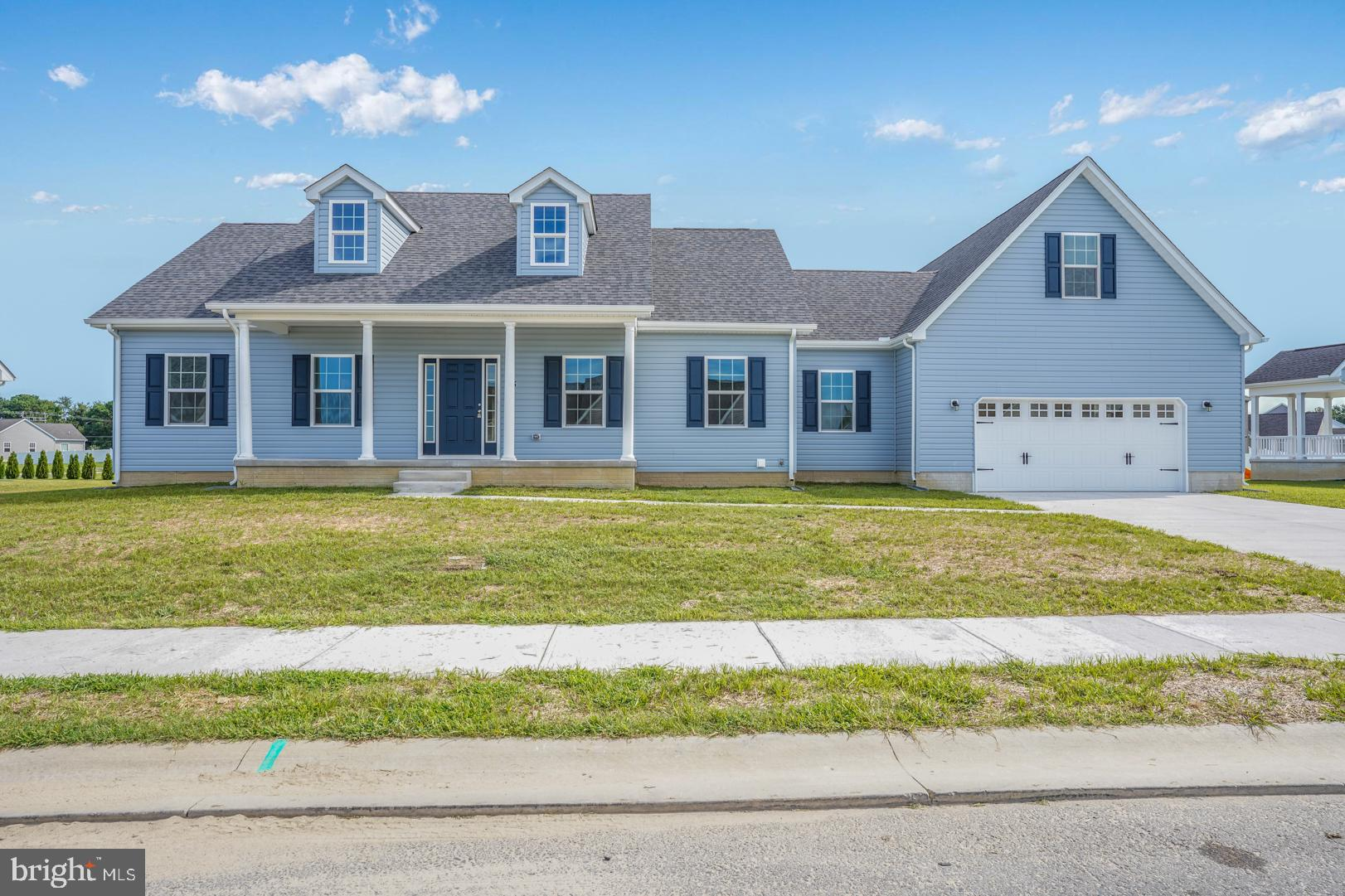 Get our LOVELY Jonesboro model on your list! This is our largest rancher model with 3 oversized bedrooms, 2 full baths and a large upstaris finished bonus room above the garage. Would make a great 4th bedroom, office or second living room.  These pictures are of a similar Jonesboro model, no the exact one. The current one being built will be a light gray color with black shutters.  The kitchen will be the exact same as pictured. The current Jonesboro being built is estimated for completion in December 2021. The Kitchen offers granite countertops, upgraded cabinets with soft close doors, crown molding and stainless steel appliances. Around the corner from the kitchen is a large walk in pantry with tons of storage! Beind the pantry, back the hall is the main level laundry room. Off the hall is a large master suite with walk in closet, and over sixed three peice master bath hosting a soaking tub, showerstall and double sinks. The Jonesboro model has a sepertate formal dining room space and an oversized welcoming family room off the kitchen. On the left side of the house are the two spare bedrooms with closet space and full bath.  The Basement on this house is the same size foot print of the house, tons of storage space! Contact the listing agent for more details and come check out the lovely community of Weatherstone Crossing.