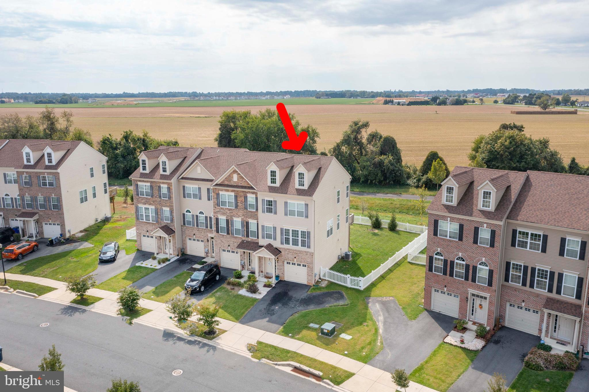 """**Highest & Final Deadline 10/3 at 8pm. ** Seller to make a decision by Monday at 1pm Beautiful End-Unit townhome located in the highly sought-after Village of Bayberry in the award winning Appoquinimink School District. Enjoy the benefits of property ownership in this low-maintenance 3-bedroom, 2.5-bathroom townhouse in a great community with plenty of free space, tree lined streets, parks, club house and community lake stocked with fish and scenic views. The first-floor entry includes modern colors with stylish durable wood look ceramic tile flooring, laundry room, utility room and Bonus room that leads to your new fully fenced backyard. On the main level the open floor plan offers an inviting entertaining and living space for you and your guests. The modern layout is created by the living room, dining room and kitchen all flowing together with hardwood floors. The family room offers plenty of natural light with the additional windows in an end-unit. The spacious and open kitchen features 42"""" white cabinets, granite counters and an island. The dining area also leads to a sliding door with access to the deck offering ample space along with beautiful views to enjoy your coffee or a good book and relaxation. Upstairs, the master suite has a large walk-in closet and the privacy of having your own full bathroom with tile flooring. Large 2nd and 3rd bedrooms are ideal for a home office, guest rooms, or nursery and share a full hall bath. Located only minutes from Schools, Parks, Hospitals, Shopping, Restaurants, Library, and with easy access to Rt. 1, Rt. 896 & Rt. 13. check out the deal on this lovely home and come make this one yours TODAY!!!"""
