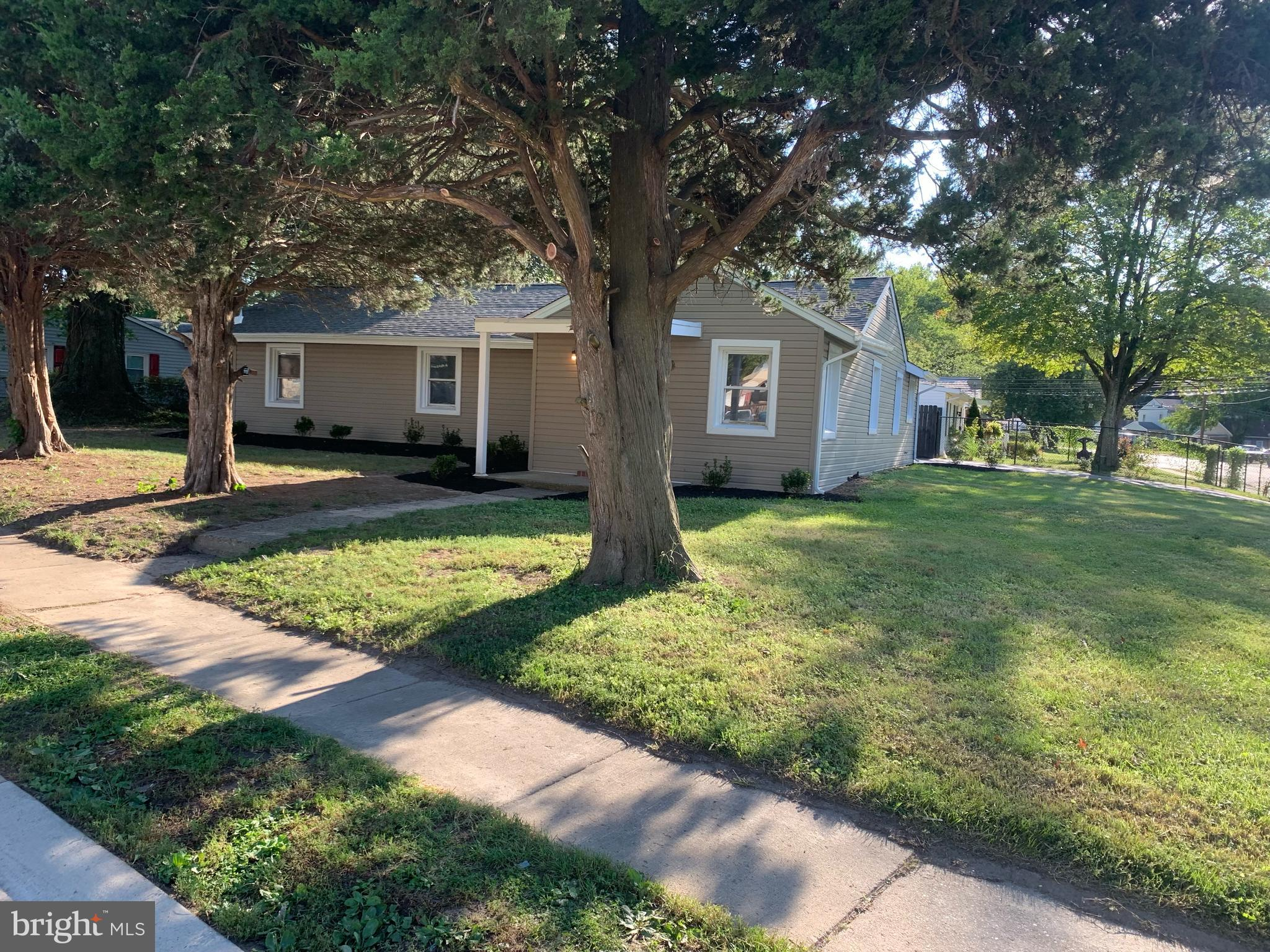 This 4 bedroom 2 bath Detached home, in the neighborhood of Dunleith, has been completely renovated. Property has a new Central A/C system, updated roof, and updated siding.  Nice two-car garage, with a large corner lot. Schedule your appointments today!