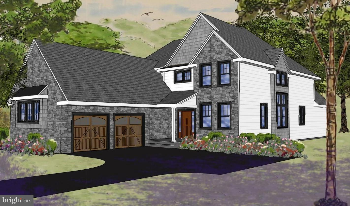 Welcome to 115 County Line Road, a new construction home being built in a desirable location in Bryn Mawr.  This home was designed with everything you want and need for your family's lifestyle.  The Open Floor Plan and detailed architectural design with high-end finishes are perfectly complemented by the level lot that backs-up to the Polo Field (a 17 Arce Park features athletic fields, playground, nature & picnic areas).  Convenient neighborhood for shopping, dining, Ludington Library, Bryn Mawr Film Institute, Universities, Medical Centers, Downtown Bryn Mawr & Haverford with nearby train systems for an easy commute to Center City Philadelphia, Wilmington, King of Prussia, Valley Forge, and the Philadelphia International Airport.  Located in the award-winning Haverford Township School District, but close to all the prestigious private schools.  Main Level: Front porch, entrance foyer hall with access to garage entrance / exit, laundry room, powder room, home office, reversing open staircase, dining room, gourmet kitchen with island open to family room with fireplace, breakfast room, spacious bedroom with sitting area, full bath and walk in closet.  Upper Level: Second ensuite bedroom aka Princess Suite,  third bedroom, hall bath and fourth bedroom.  Lower Level:  Full basement.  In addition to all of these exquisite finishes, there is an opportunity to customize any portion of the home to your specific specifications.  The Builder is available to answer questions and to meet with prospective buyers to review the house plans.
