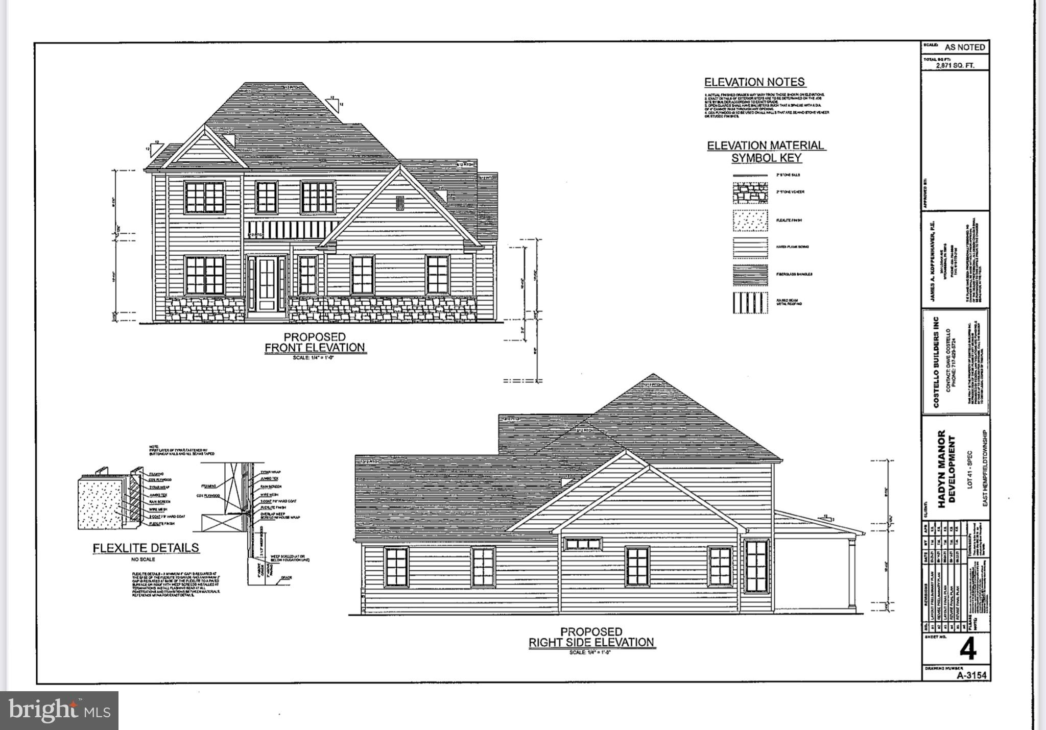 HAYDN MANOR'S newest Model Home under construction by Costello Builders*4 BR,4.5 Bath Two Story Overlooks Neighborhood Park and Walking Trails*First Floor Owner's Suite with Luxurious Bath and Walk in Closet*First Floor Study/Den with French Doors*10' Ceiling Height & Hardwood Floor throughout First Floor*Gourmet Custom Kitchen complete with SS Appliances-5 Burner Gas Cooktop, Granite Countertops, Tile Backsplash, Center Island/Breakfast Bar, Walk-in Pantry*Open Floor Plan-Large Windows-Ample Natural Light*Second Floor has 3 BR's with Walk-in Closets, 2 Full Baths and a Loft* Finished Daylight Basement Family Room and Full bath plus large storage areas*2 Car Side Entry Garage*Covered Patio Overlooks Park